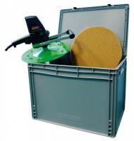 Eibenstock Pleisterbew.machine EPG 400 WP - met regelbare watertoevoer met basis- en sponsschijf